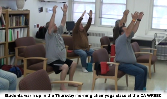Chair Yoga Class at the Palo Alto VA